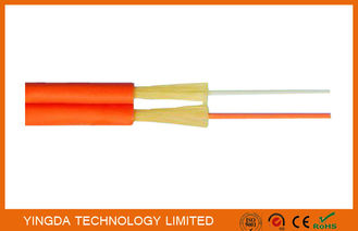 Chine Zipcord duplexent le câble d'interface de FTTH, SM de corde de correction/millimètre de 1.6mm 2mm 3mm jaune-orange usine